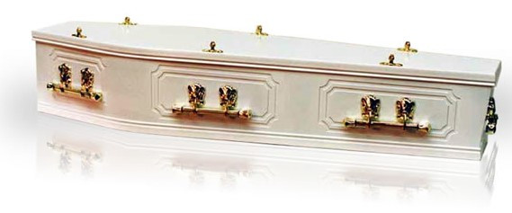 Kindale White Coffin