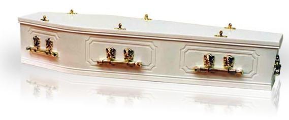 Kindale White Coffin