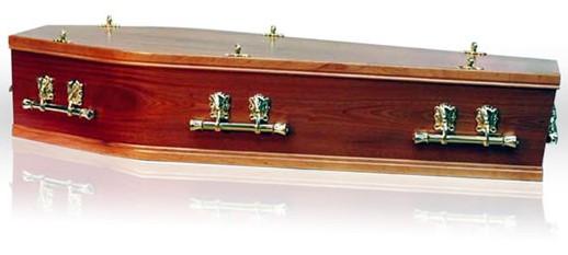Windsor Mahogany Coffin